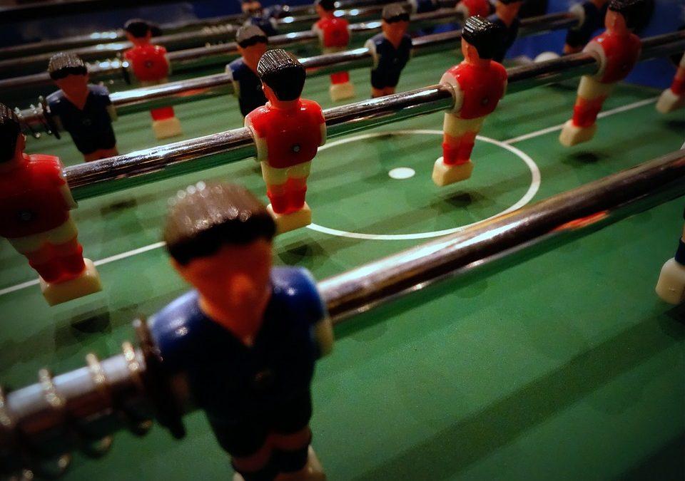 Kicker-Turnier zur Kaderfindung